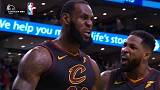 Los Cavaliers de LeBron James en la final de la NBA