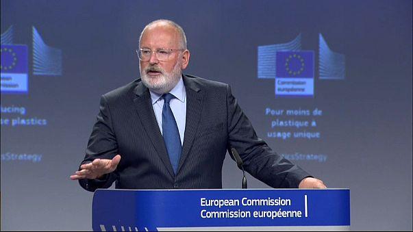 Estas son las medidas de la Comisión Europea para prohibir los plásticos de usar y tirar