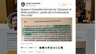 Crisi di governo, tweet bufala di Toninelli (M5S) sui poteri del Presidente: immediatamente smentito