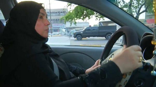 Первая женщина-таксист