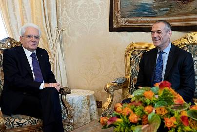 Γραφείο Τύπου Ιταλικής Προεδρίας/Reuters