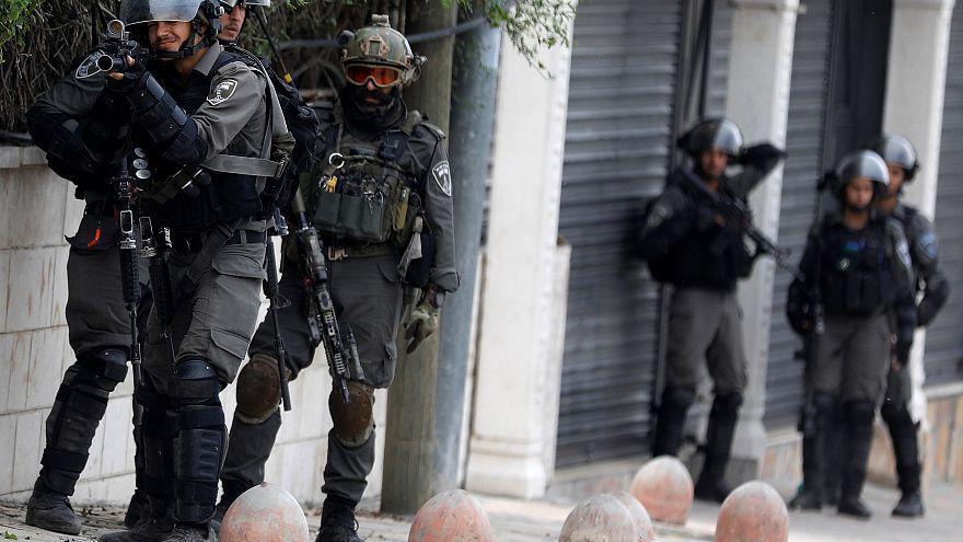 عناصر من القوات الاسرائيلية في رام الله