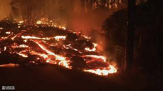 Lava from Kilauea has destroyed homes over the past three weeks