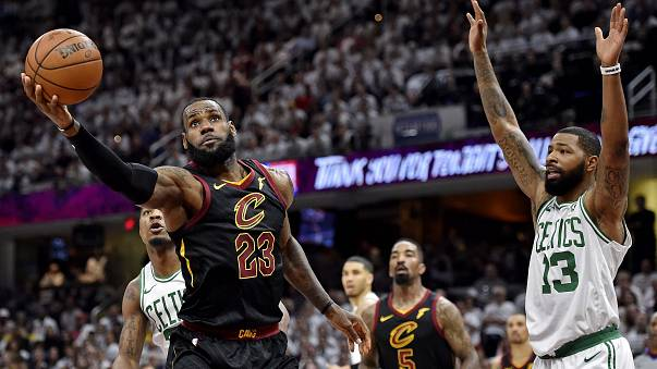 Cleveland Cavaliers NBA'de finale çıkan ilk takım oldu