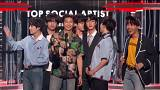 K-pop group BTS top US album charts