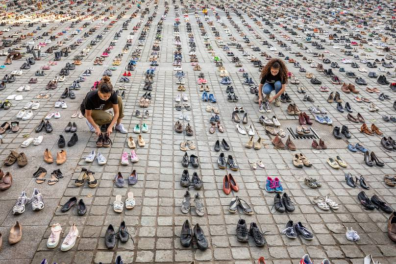 Olivier Matthys/AP Images for AVAAZ