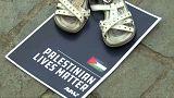 Une paire de chaussures pour chaque mort dans le conflit palestinien