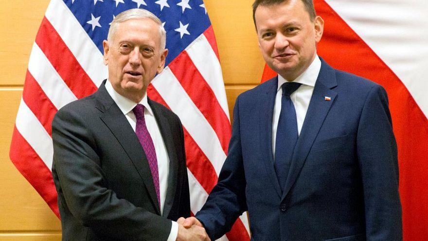 Varsóvia quer base permanente dos EUA em território nacional