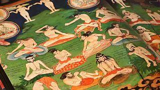Murais milenares do tibete revelados em livro
