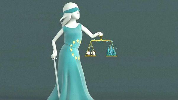 Kép a Digitale Gesellschaft német fogyasztóvédő szervezet videójából