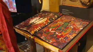Egyedülálló festményantológia Tibetből