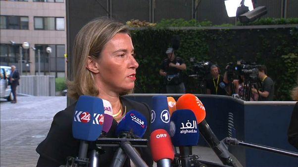 """Mogherini: """"Confío plenamente en las instituciones italianas"""""""