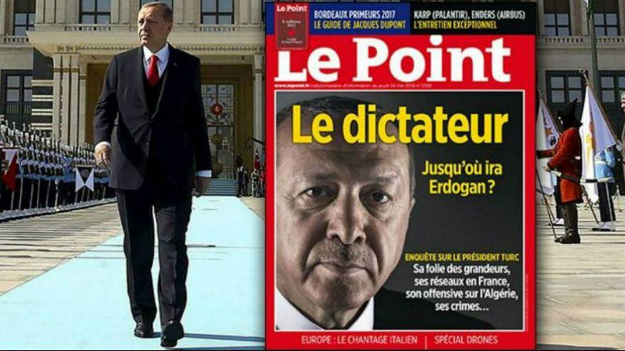 دردسر واژه دیکتاتور و عکس اردوغان برای نشریه فرانسوی