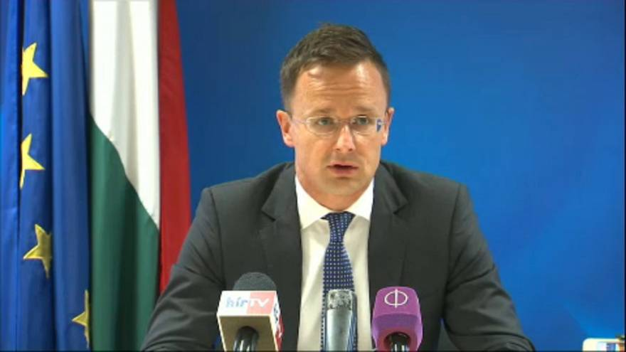 Szijjártó: riasztó a bolgár menekültügyi javaslat