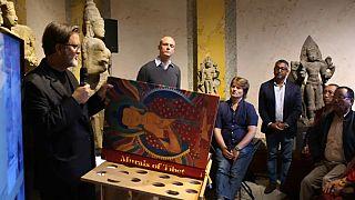 10 bin Euroluk 'Tibet'in Kitabı' basına tanıtıldı