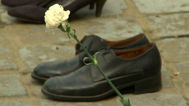 Брюссель: в память об убитых палестинцах