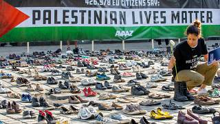 Avaaz Palestinian Lives Matter protest, Brussels