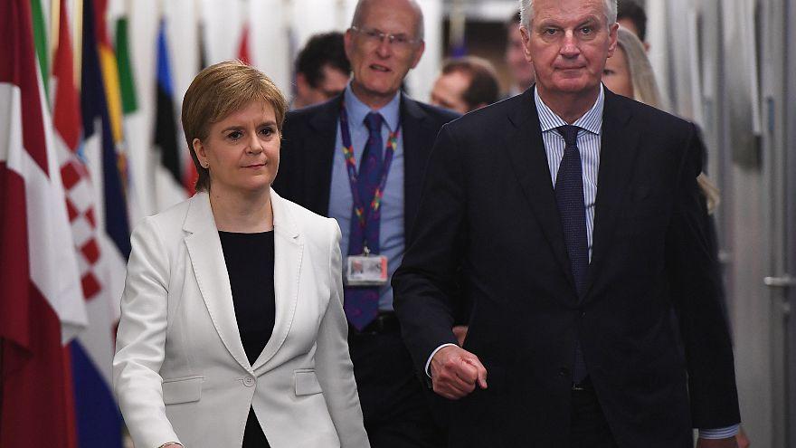 Escócia quer continuar na UE e manter a libra