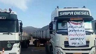 اعتصاب کامیونداران؛ از توافق اتحادیهها تا پیوستن تهران به اعتصاب