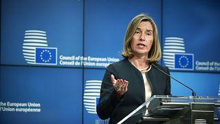 Federica Mogherini la cheffe de la diplomatie de l'UE