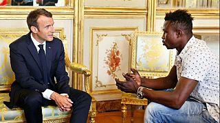 مامادو.. الشاب المالي بطل فرنسا