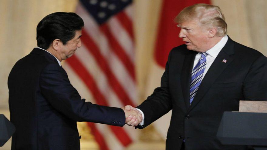 البيت الأبيض: ترامب وآبي يتفقان على اللقاء قبل القمة مع كيم