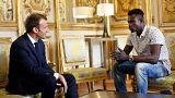 Malili 'Örümcek adama' Fransız vatandaşlığı verilecek