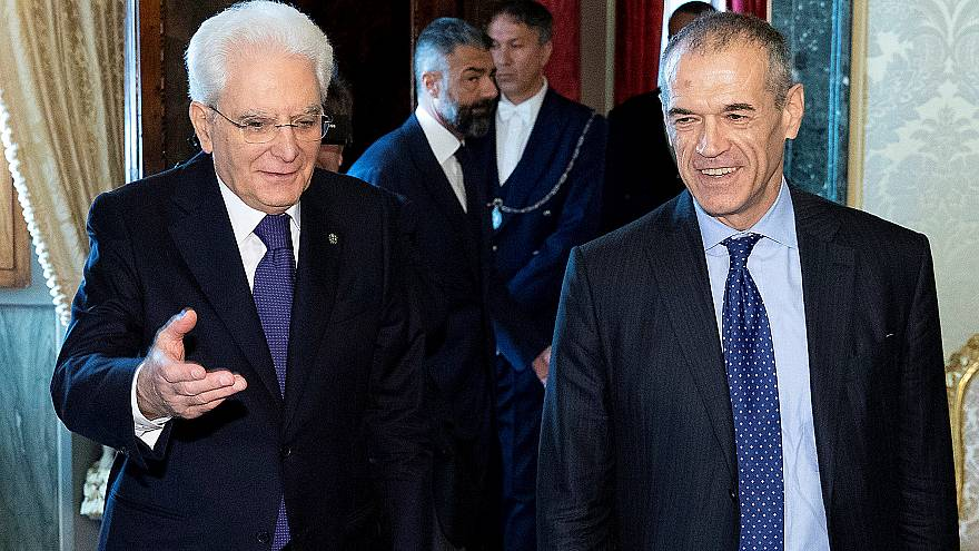 Italy crisis in EU spotlight as Cottarelli looks to form government