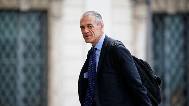 Carlo Cottarelli, escolhido pelo Presidente italiano para formar governo