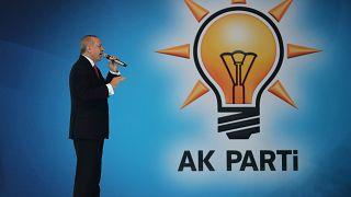 Campagne présidentielle de Recep Tayyip Erdogan en Turquie.
