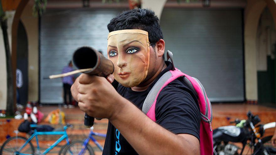Беспорядки в Никарагуа не утихают