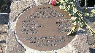 Çavuşoğlu ırkçı saldırının yıl dönümünde Almanya'da