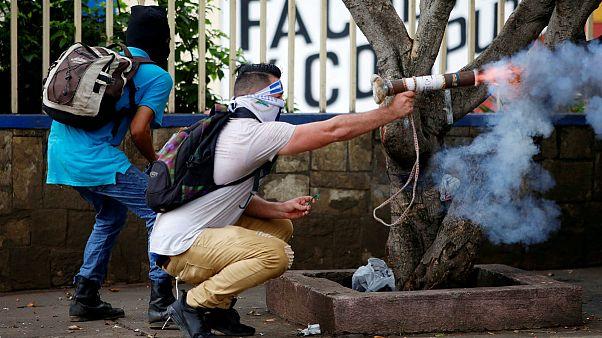Folytatódtak az erőszakos tüntetések Nicaraguában