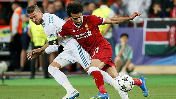 Real-Liverpool: European Judo Union calls out Ramos' 'illegal move' on Salah