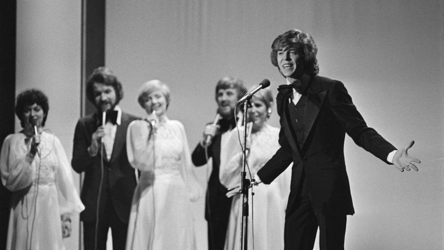 Jürgen Marcus beim Eurovision Song Contest 1976
