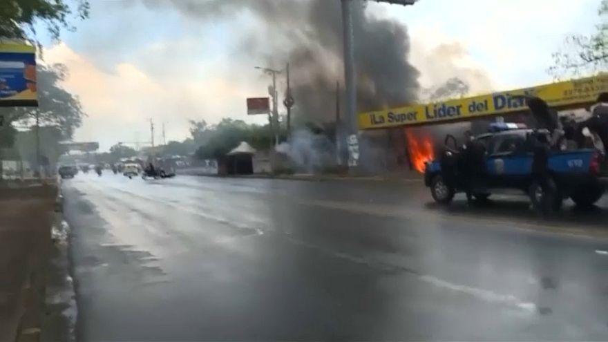 Nikaragua'da protestolar sürüyor