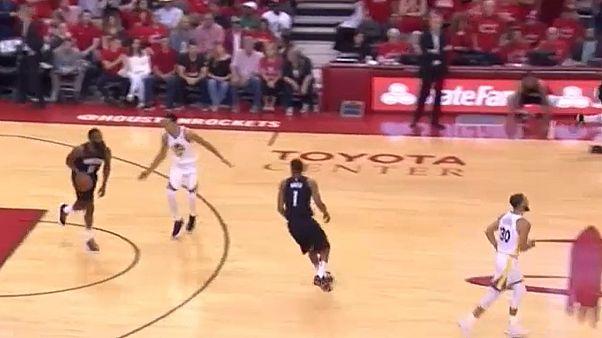 Warriors impõem-se sobre os Rockets