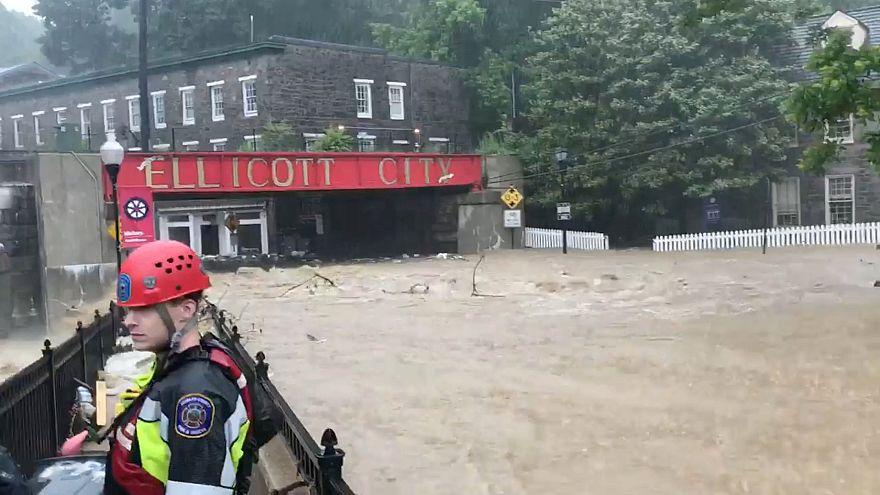 Notstand nach Hochwasser im US-Bundesstaat Maryland