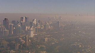 Сидней в дыму по вине пожарных