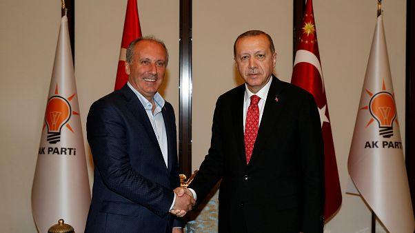 Erdoğan'dan İnce hakkında suç duyurusu