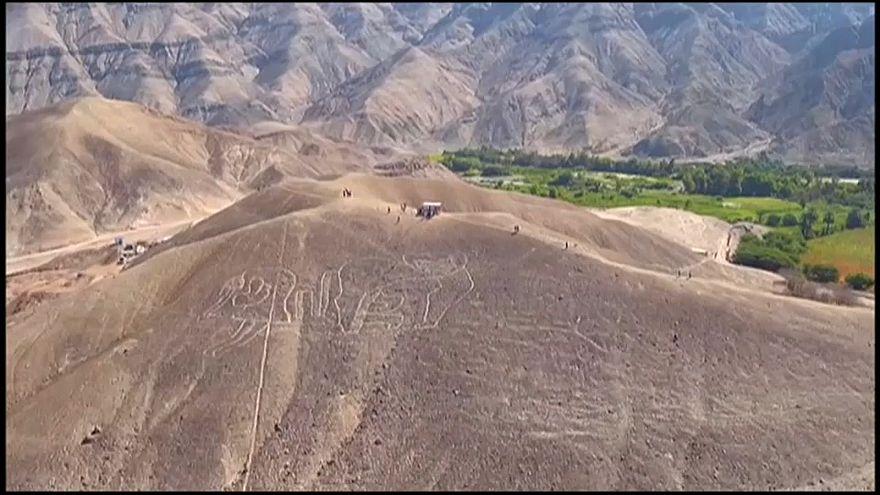 Peruvian authorities find new geoglyphs