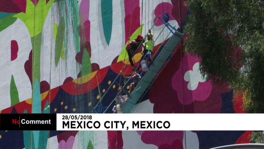 Rescatan a cuatro artistas urbanos en Ciudad de México