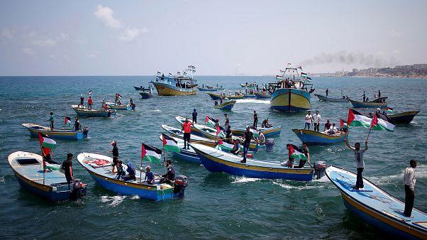 قوارب الحرية في غزة