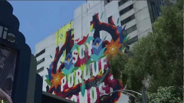 Μεξικό: Ζωγράφιζαν τοιχογραφία και βρέθηκαν στο κενό