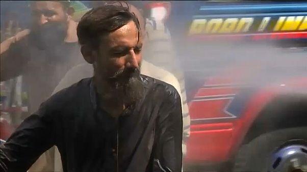 Nueva ola de calor en Karachi, Pakistán