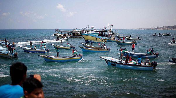 Marinha israelita arresta embarcação palestiniana
