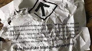 Neo-Nazis dump rubbish outside homes of Danish politicians