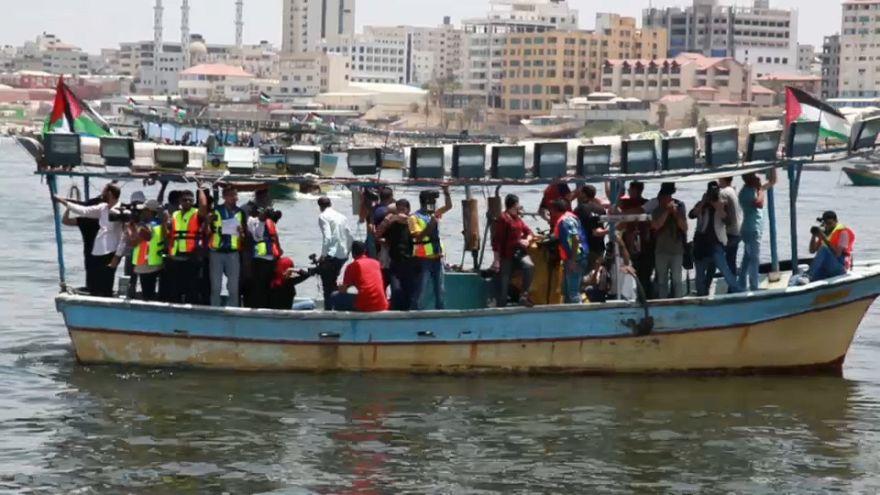 Un bateau gazaoui arraisonné par Israël