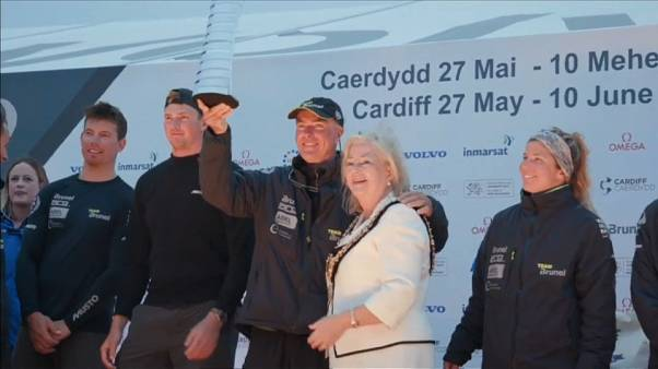 Brunel gana la 9ª etapa de la Volvo Ocean Race