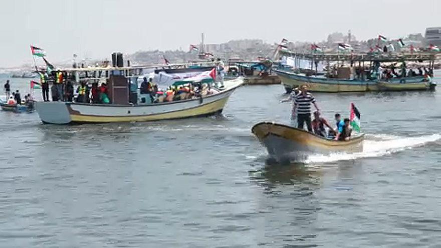 """Feltartóztatták a """"Szabadság flotillát"""""""
